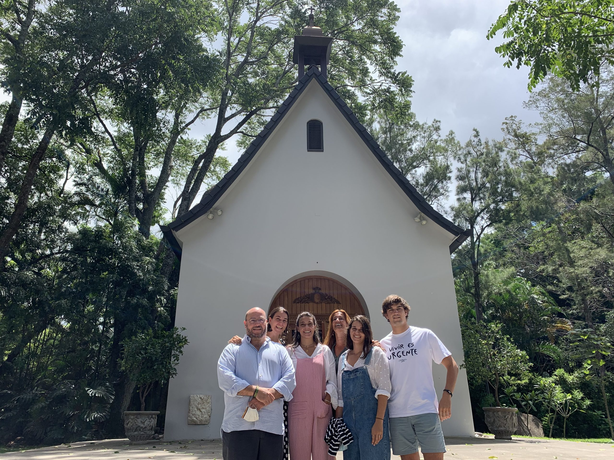 Visita de la Familia Internacional